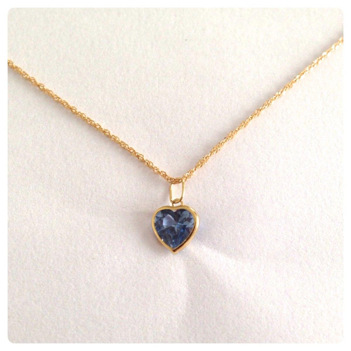 eca768e06be36 corrente singapura cordão de 50cm pingente coração ouro 18k. Carregando  zoom.