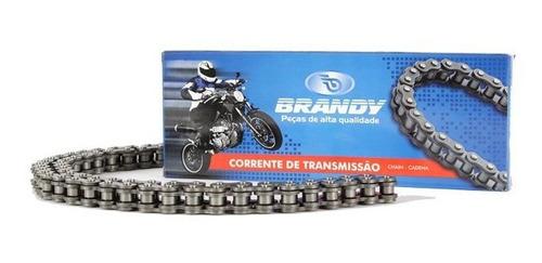 corrente transmissão 428h124 dafra apache 150 (brandy)