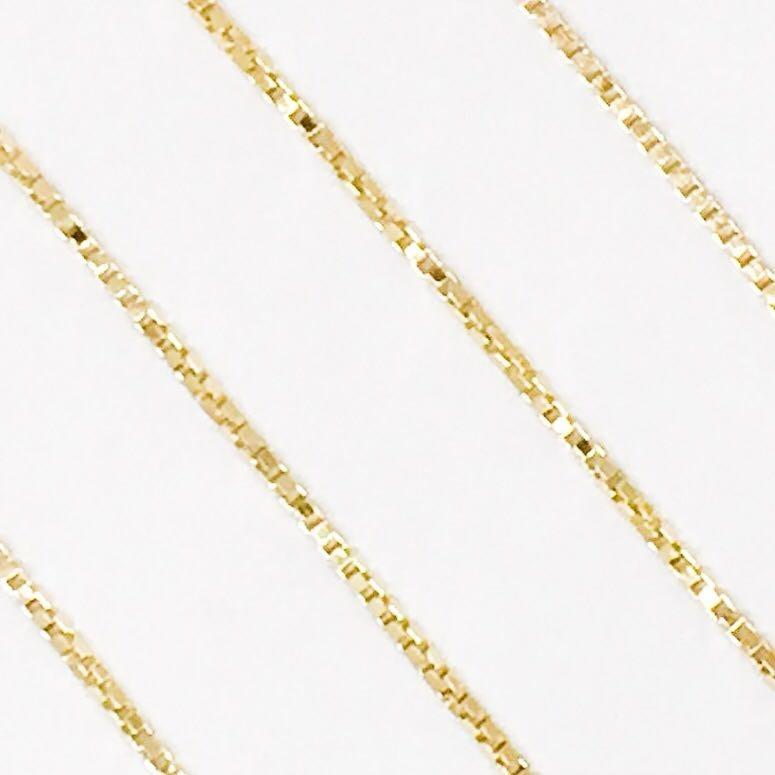 9f635e98b4780 Corrente Veneziana 0,70mm 50 Cm Ouro 18k Unissex - R  504,90 em Mercado  Livre