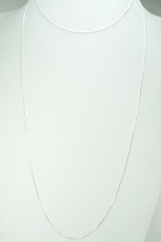 corrente veneziana 1 metro 100 cm prata 925 (v)
