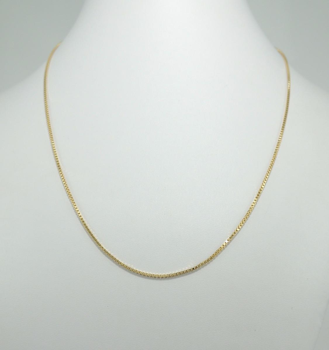 Corrente Veneziana 60 Cm Em Ouro 18k 750 Cordão - R  960,00 em ... 2f16c34527