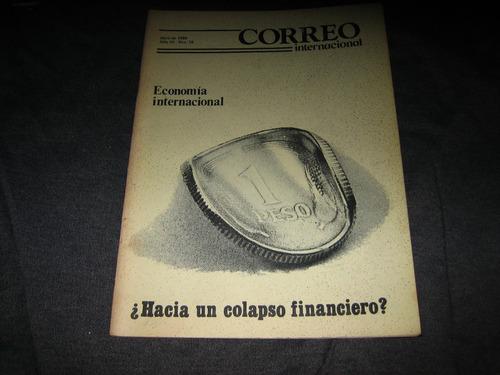 correo internacional revistas nº 18/32/43 1986/88 precio c/u