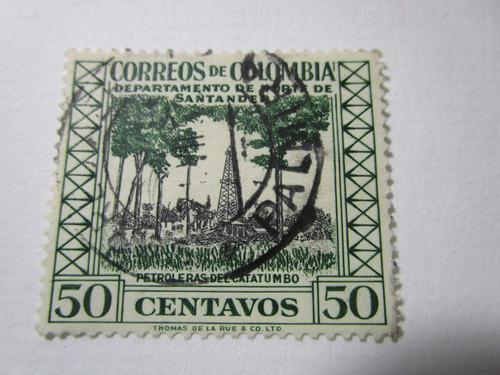 correos colombia santander petroleras estampilla