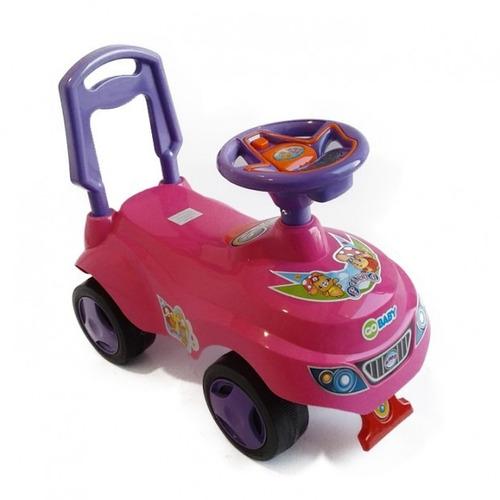 correpasillo auto rosado gobaby