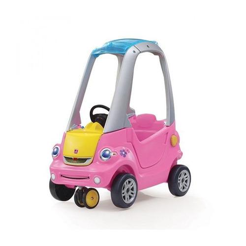 correpasillo con giro 3d rosado