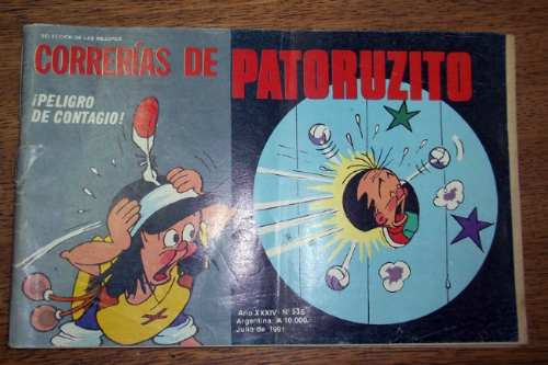 correrias de patoruzito no.536- julio 1991