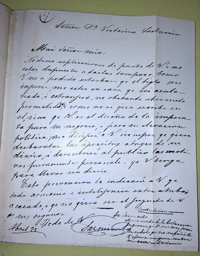 correspondencia entre sarmiento y lastarria 1844-1888