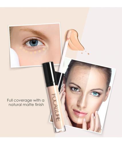 corretivo líquido focallure - original - iluminador / contorno - corretivo facial - preço por unidade