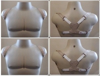 corretor coluna postural modelador p m g masculino feminino