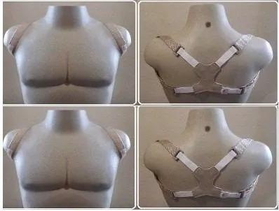 corretor postura coluna colete masculino feminino p m g gg
