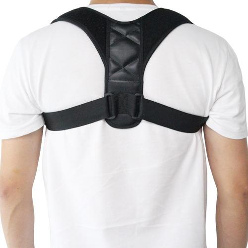 corretor postural unisex alinhamento ombro coluna ajustável