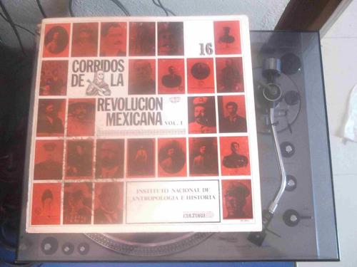 corridos de la revolución mexicana, inah-16