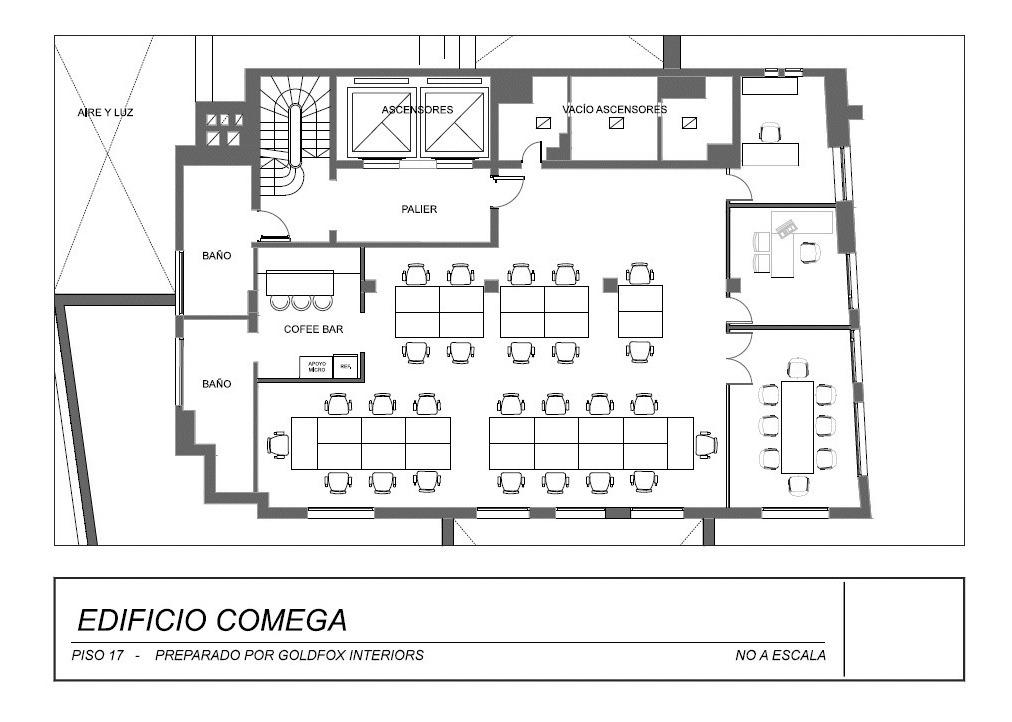 corrientes av. 200 6-a - microcentro (comercial) - oficinas planta dividida - alquiler