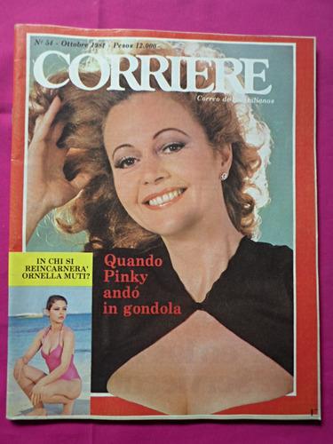 corriere n° 54 año 1981 pinky poster ornella mutti