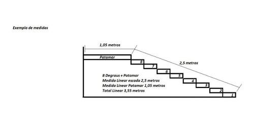 corrimão de inox/ guarda corpo de inox aço 304