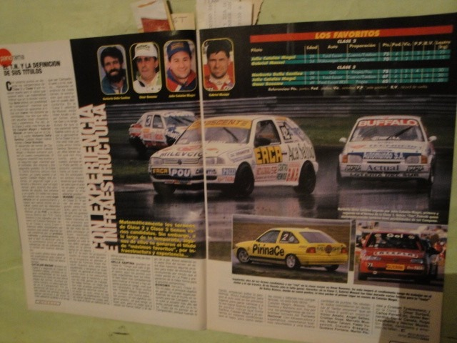 Corsa 1632 Formula 1 Turismo Nacional Tc2000 Formula Renault - $ 201,88