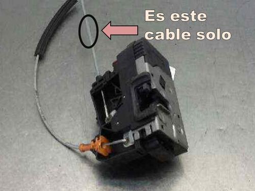 corsa 2 cable comando de traba cerradura delantera original