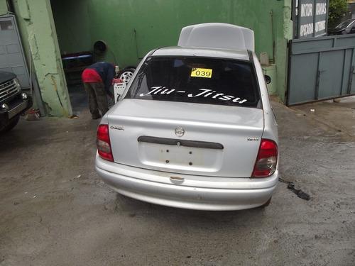 corsa sedan 02, vidro, banco,painel -farol  sucata em peças