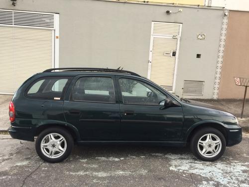 corsa wagon 1.6 8v 2001/2001 raríssima completa