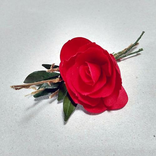corsage broche flores distintivo kit 10 piezas c04