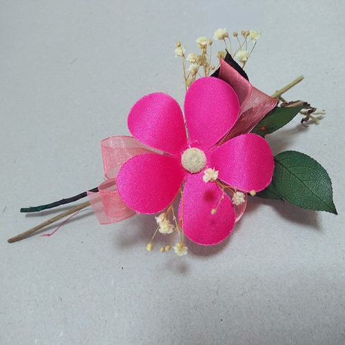 corsage broche flores distintivo kit 10 piezas c06