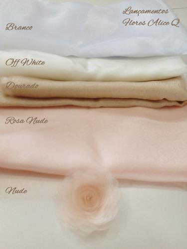 corsages são flores de tecido feitas a mão (encomendas)