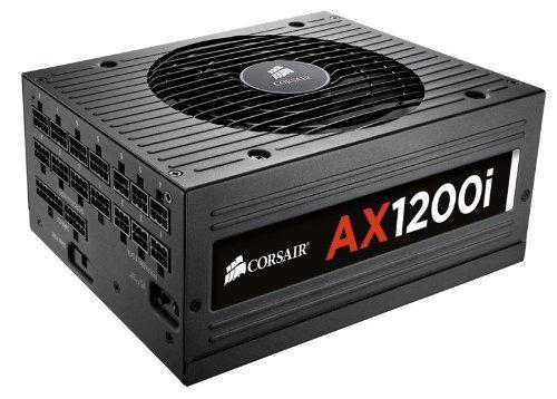 corsair axi serie, ax1200i, 1200 watt (1200w), totalmente di