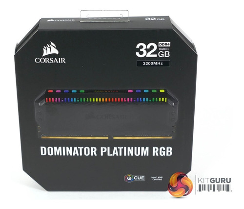corsair dominator platinum rgb 32 gb (2 x 16) 3200 mhz