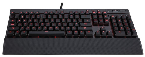 corsair gaming k70 teclado mecánico cherry mx red