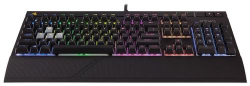 corsair gaming strafe rgb teclado mecánico cherry mx