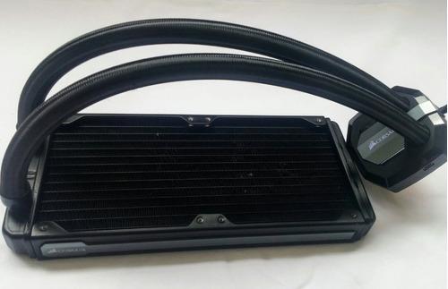 corsair h100i v2 water cooler hydro  pc gamer watecooler s/ acessórios