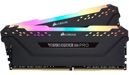 corsair vengeance rgb pro 16gb (2x8gb) ddr4 3200mhz black