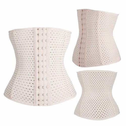 corselet cinta modeladora corset corpete barato espartilho