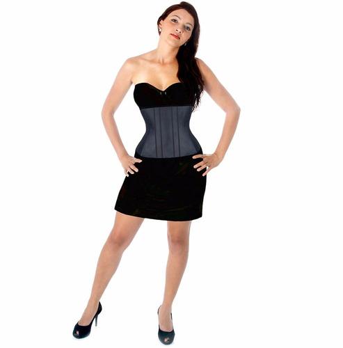 corselet corpete espartilho para afinar cintura básico