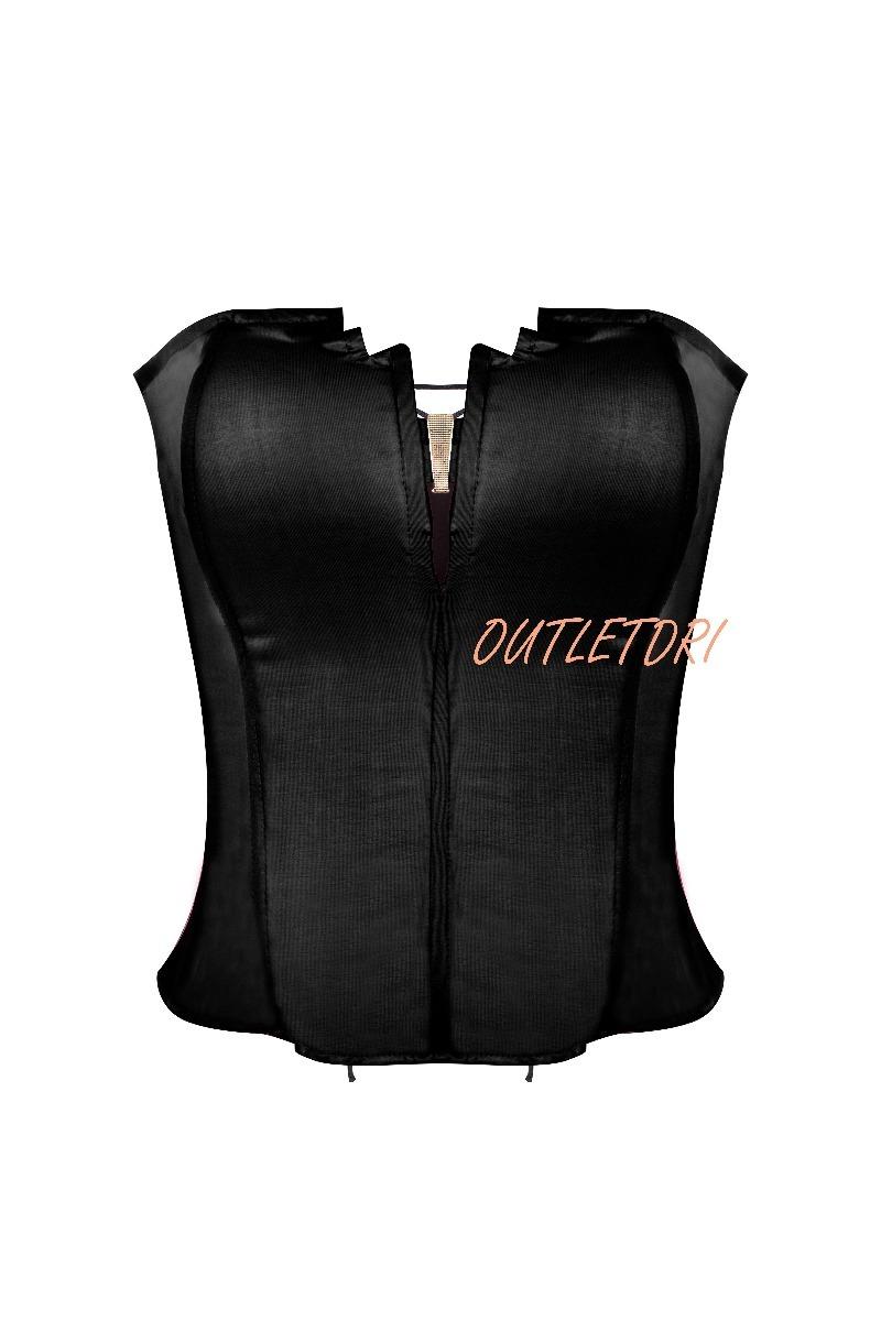 c49a6f50df corselet corset corpete espartilho lingerie ilhos costas. Carregando zoom.