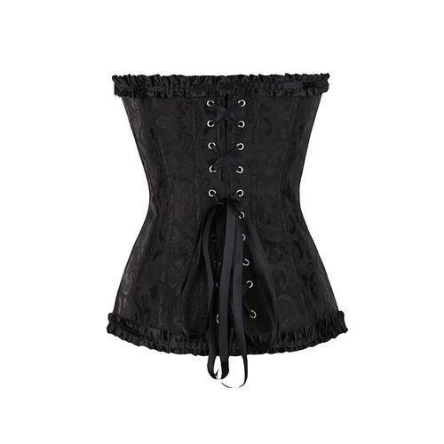 corselet fecho frontal lingerie sexy sensual afina cintura