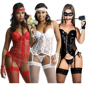5d1aa87a3e87c Kit Espartilhos Completos Com 10 Pe As - Moda Íntima e Lingerie no ...