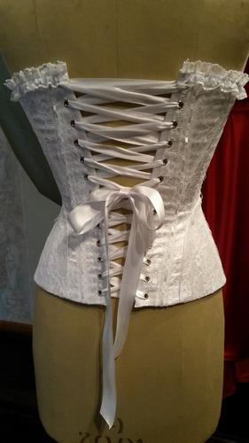 corset alta costura para 15 años, novias, madrinas o fiesta.