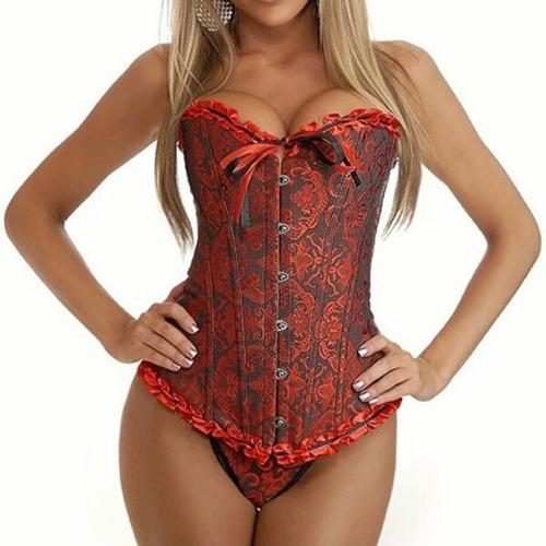 corset corselet corpete espartilho barato cinta modeladora.