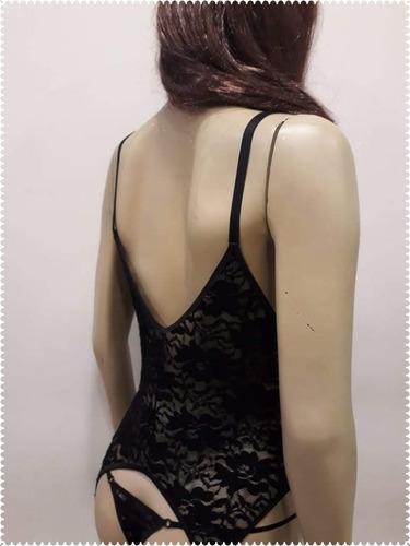 corset encaje strech con cola less marca susila tantrik