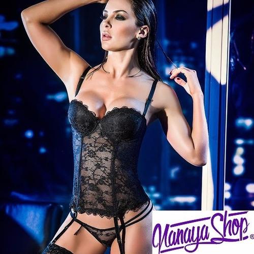 corset+hilo+liguero sensual lenceria mujer
