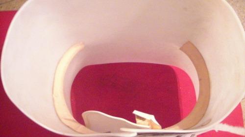 corset ortopédico de plástico para rehabilitación de columna