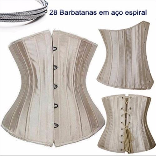 corset tight lacing 28 barbatanas de aço corselet corpete