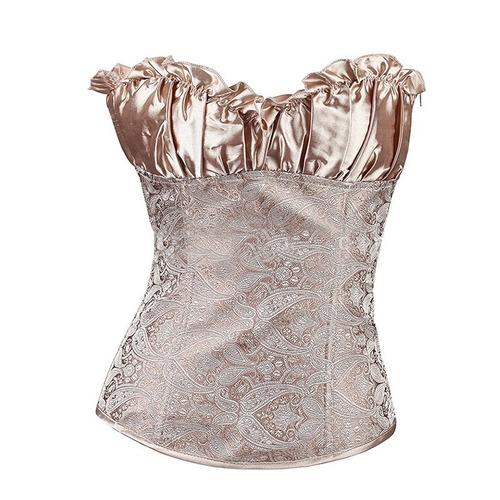 corset victoriano reduce cintura faja modelador vintage