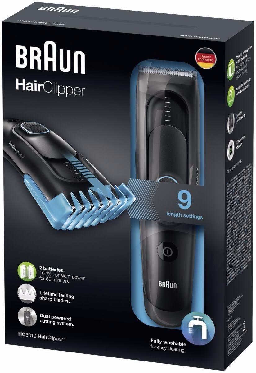 corta barba y pelo braun hc5010 hair clipper lavable. Cargando zoom. 40bcafdb2b3f