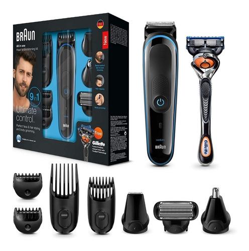 corta barba y pelo trimmer braun 9 en 1 nueva garantía