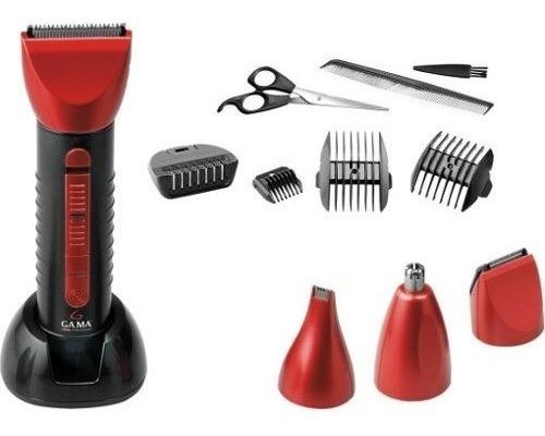 corta cabello y barba gama gc616 inalámbrica accesorios
