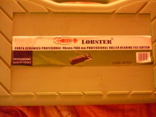 corta cerámicas profesional 40 cms lobster