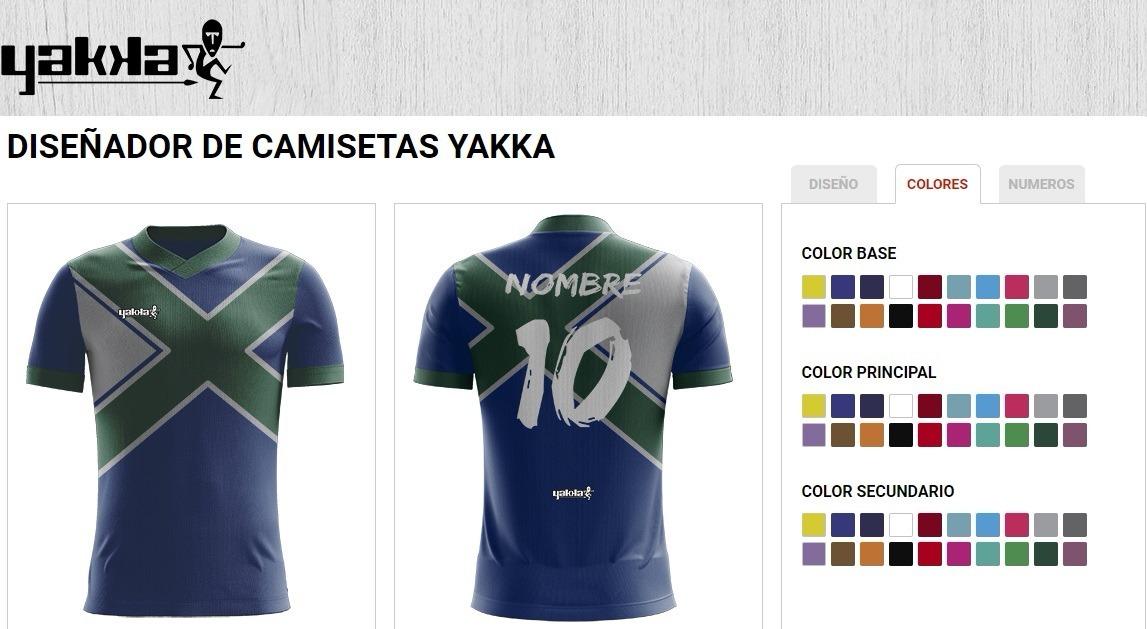 Camiseta Personalizada Yakka Manga Corta Hombre 14 Unidades ... 77b142d2bc896