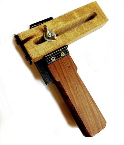 corta lonjas tiras de cuero y otr mat. manual